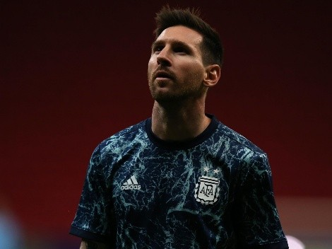 El detalle que no viste de la foto que subió Messi