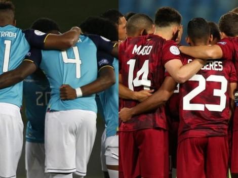 Venezuela vs. Ecuador: VER EN VIVO, minuto a minuto el partido por la Copa América 2021