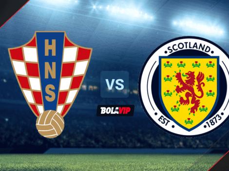 Fecha, hora y canal de TV para VER Croacia vs. Escocia por la Fecha 3 de la Eurocopa