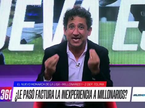 Casi llora en vivo: la reacción de Antonio Casale luego que Millos perdiera la final