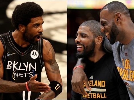 La 'maldición' de LeBron James que no deja ganar a Irving en Playoffs