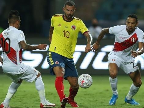 Mientras estuvo en cancha, Cardona fue el que más chances de gol creó en Colombia