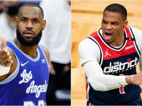 ¿LeBron va por Westbrook para los Lakers? La señal que dio en Instagram