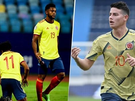 Tras la derrota de Colombia, las redes volvieron a hablar de James Rodríguez