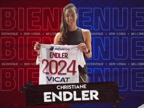 Christiane Endler fue oficializada en el Olympique de Lyon