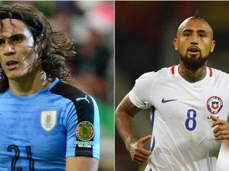 Uruguai e Chile empatam por 1 a 1 pelo Grupo A da Copa América