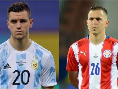 Argentina vence o Paraguai por 1 a 0 e fica próxima de garantir a classificação à próxima fase