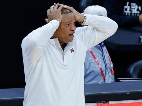 Doc Rivers perdió con los 76ers y logra récords negativos