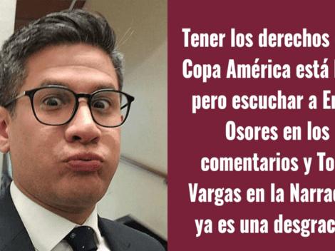 """Erick Osores respondió con todo a hincha peruano: """"Esfuérzate más para que te pongas DIRECTV"""""""