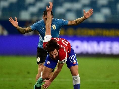 Ben Brereton fue el que más regateó y más faltas recibió vs. Uruguay