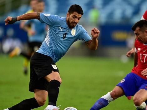Suárez lo empató ante Chile y Uruguay sumó su primer punto en al Copa América