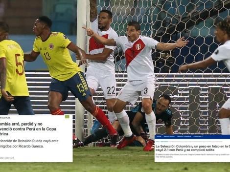¡No destacan el juego de Perú! Prensa colombiana dice que perdieron por errores de ellos