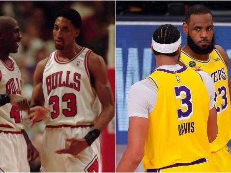 Jordan, ¿lo dijiste? La respuesta sobre si vencería a Lakers de LeBron