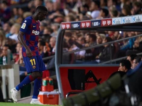 Dembelé regresa a Barcelona, ¿Para quedarse?