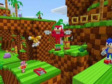 Sonic llega a Minecraft con un DLC que incluye nuevo gameplay y 24 skins