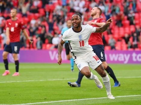 Inglaterra ganó por la mínima ante República Checa y clasificó como líder del grupo