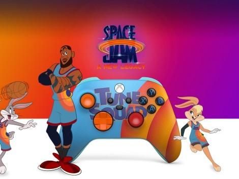Así son los nuevos mandos para Xbox tematizados con Space Jam