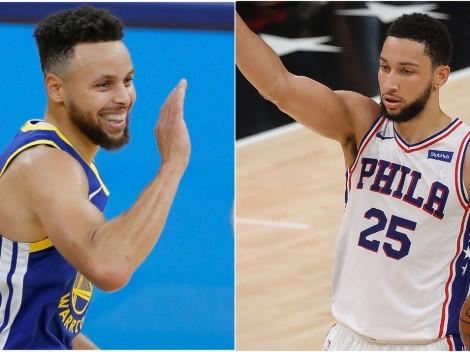 Curry sonríe: Razón por la cual Ben Simmons es perfecto para Golden State Warriors