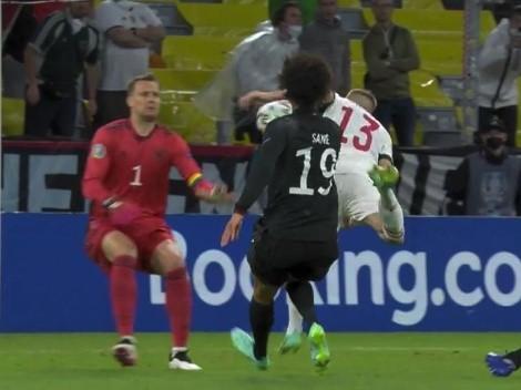 Video: Alemania había empatado pero Hungría sacó del medio y puso el 2 a 1