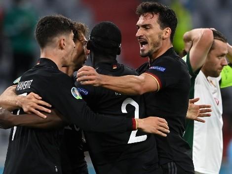 Alemanha sofre contra a Hungria, consegue empate e se classifica às oitavas da Euro