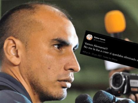 """Rainer Torres y su polémico mensaje mientras jugaba Perú vs Ecuador: """"Vamos Alemania"""""""
