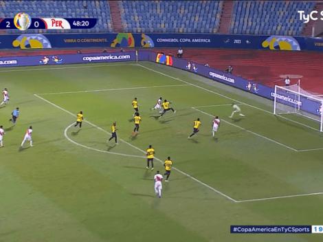 Por fin apareció su gol: Gianluca Lapadula anotó el 2-1 y nos invita a soñar