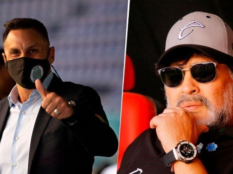 El día que el Chaco se atrevió a gritarle a Maradona