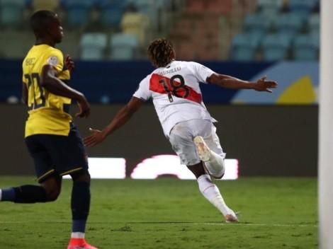 Más que un punto: Perú empató contra Ecuador con goles de Carrillo y Lapadula