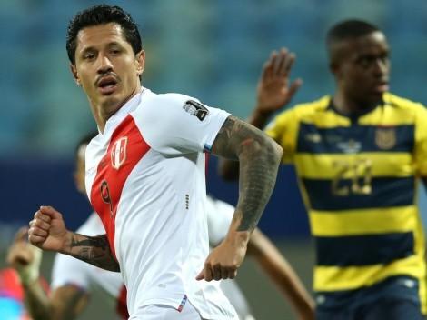Jugador x Jugador de Perú vs. Ecuador