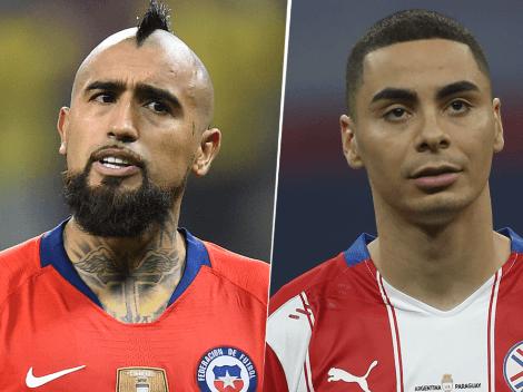 Chile cayó ante Paraguay por 2-0 en la Copa América