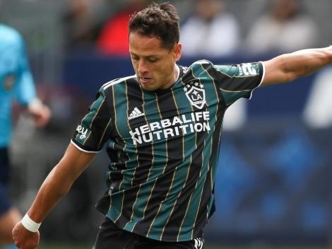 'Chicharito' Hernández destrabó el partido en una emocionante victoria del LA Galaxy