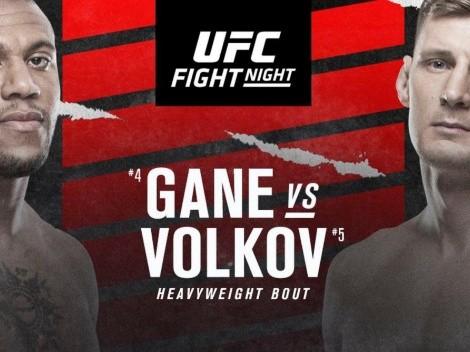 Cuándo y cómo ver UFC Fight Night | Ciryl Gane vs. Alexander Volkov | Horarios, cartelera completa, canales de TV y streaming ONLINE