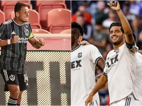 Chicharito y Vela se hermanan en el gol por primera vez desde sus arribos a la MLS