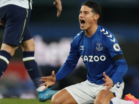 Report | James Rodriguez ready to leave Everton: Agent offers him to big teams
