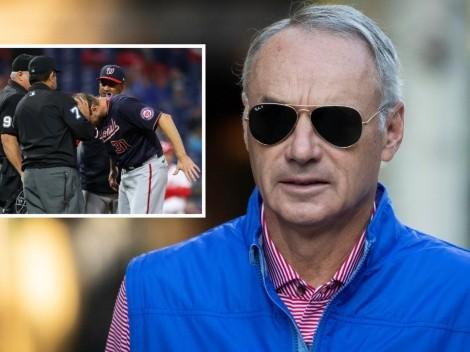 Comisionado de MLB responde a jugadores por revisión de sustancias ilegales