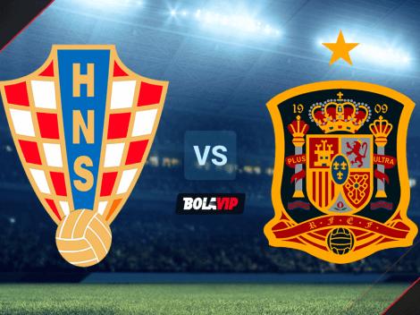Cuándo juegan Croacia vs. España por la Eurocopa
