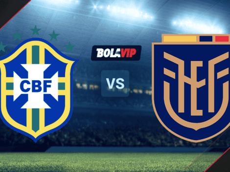 Brasil vs. Ecuador: cuándo, dónde y cómo ver EN VIVO el partido por la Copa América