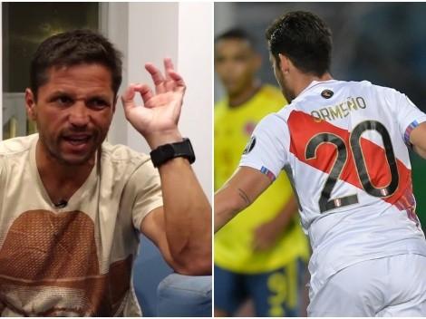 """Pedro Eloy criticó a Santiago Ormeño: """"La agarró y pensé que había puesto cámara lenta"""""""