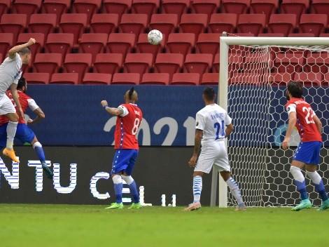 Braian Samudio adelanta a Paraguay en la Copa América