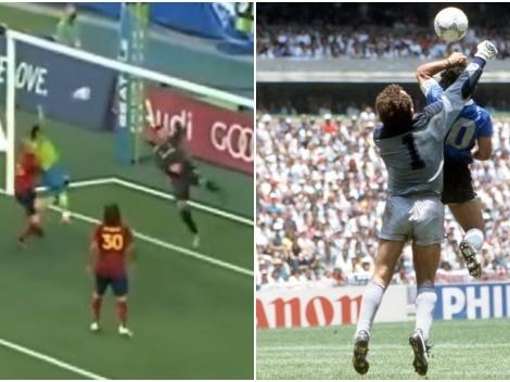 Raúl Ruidíaz se compara con Diego Armando Maradona en 'la mano de Dios'