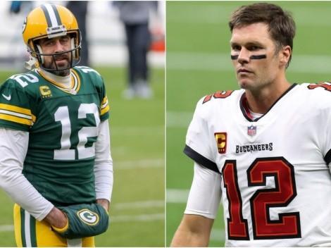 Tom Brady dio su opinión del conflicto de Aaron Rodgers con Green Bay Packers