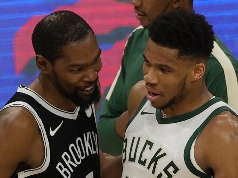 Las 6 palabras de Durant a Giannis para que gane el título NBA