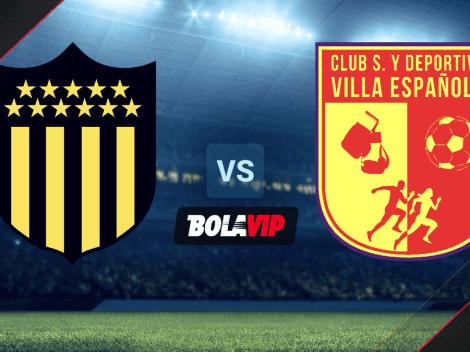Qué canal transmite Peñarol vs. Villa Española por el Campeonato Uruguayo