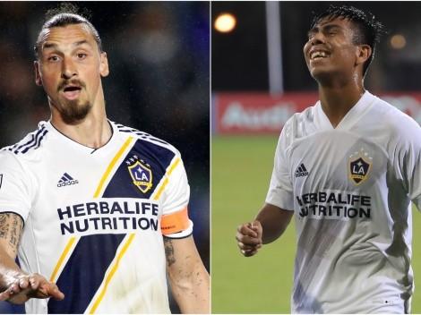 Los elogios de Zlatan Ibrahimovic a Efraín Álvarez cuando jugaron en MLS