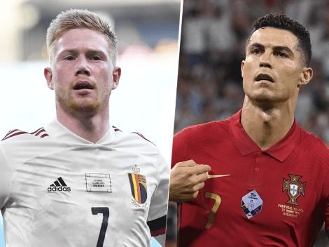 EN VIVO: Bélgica vs. Portugal por la Euro 2020