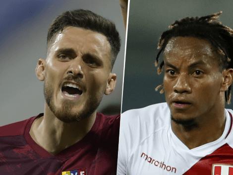 EN VIVO: Venezuela vs. Perú