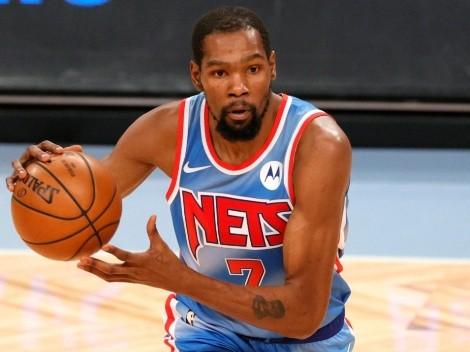 Kevin Durant contento con la conexión que hay con los aficionados de los Nets