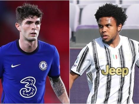 Cada vez son más: los jugadores de Estados Unidos en la Champions League 2021-22