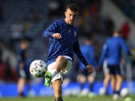 Iván Perisic dio positivo para coronavirus y será baja de Croacia contra España