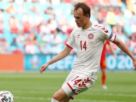Mikkel Damsgaard, la joven estrella de la Eurocopa que suena para reforzar al Liverpool